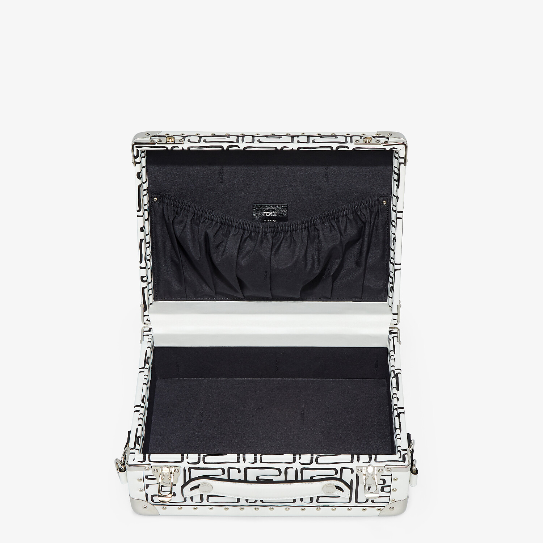 FENDI RIGID SUITCASE SMALL - Fendi Roma Joshua Vides leather suitcase - view 4 detail