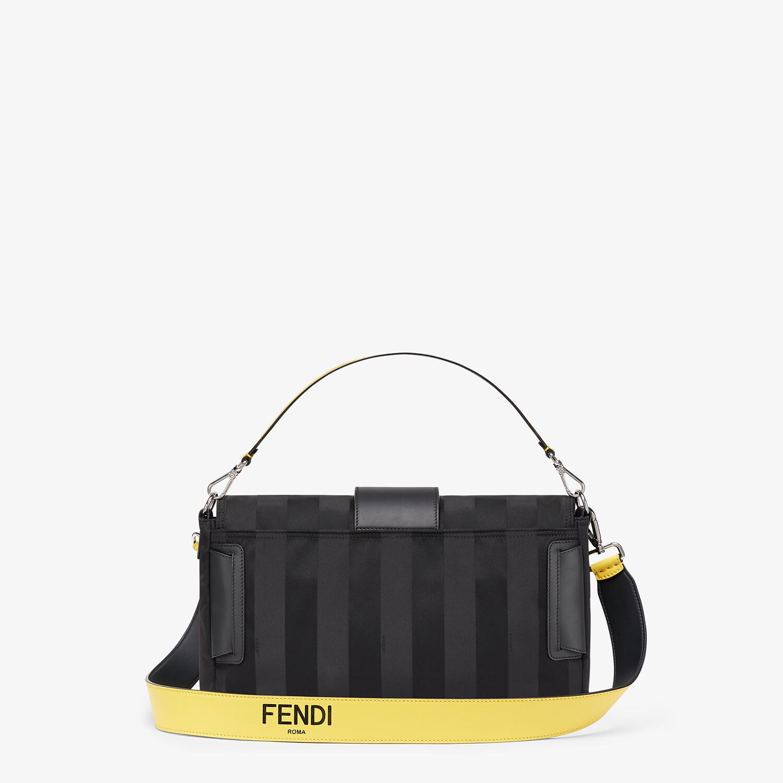 FENDI BAGUETTE LARGE - Black nylon bag - view 4 detail