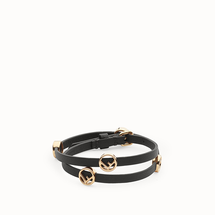 FENDI F IS FENDI BRACELET - Black choker-bracelet - view 1 detail