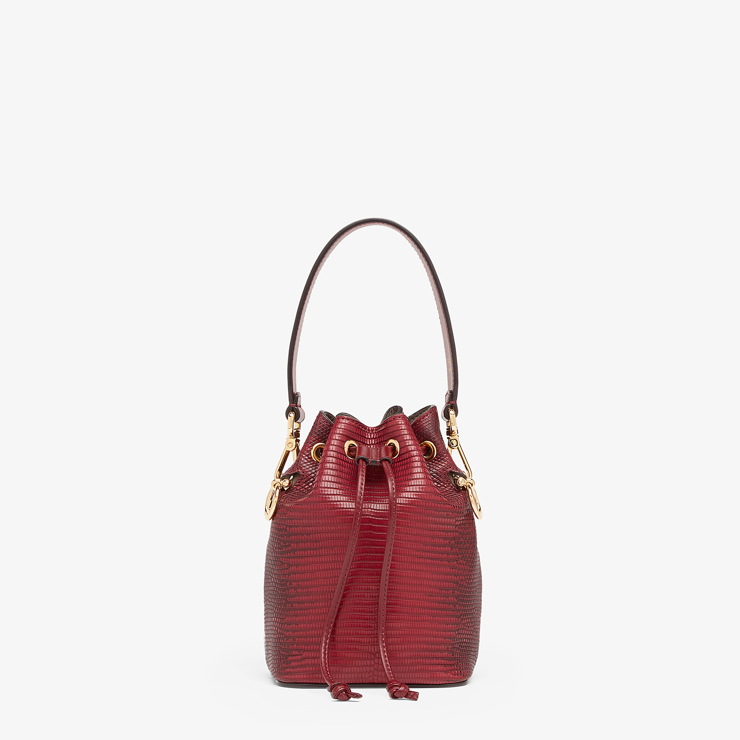 FENDI MON TRESOR - Red lizard skin mini-bag - view 1 detail
