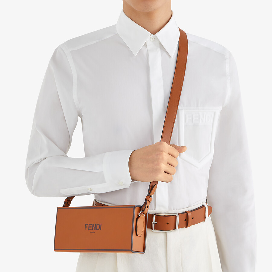 FENDI SHIRT - White cotton shirt - view 4 detail