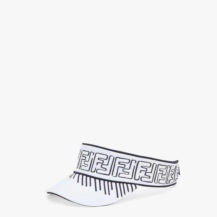 FENDI VISOR - White Lycra® visor - view 1 detail