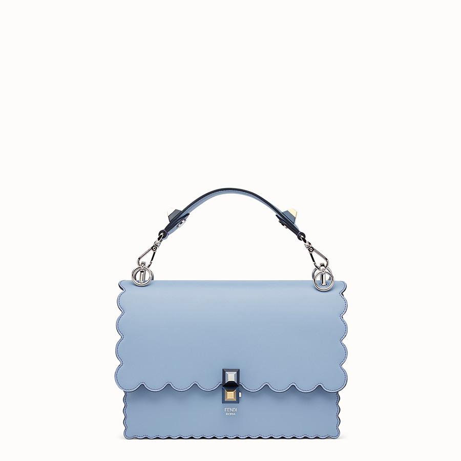 Light blue leather bag - KAN I