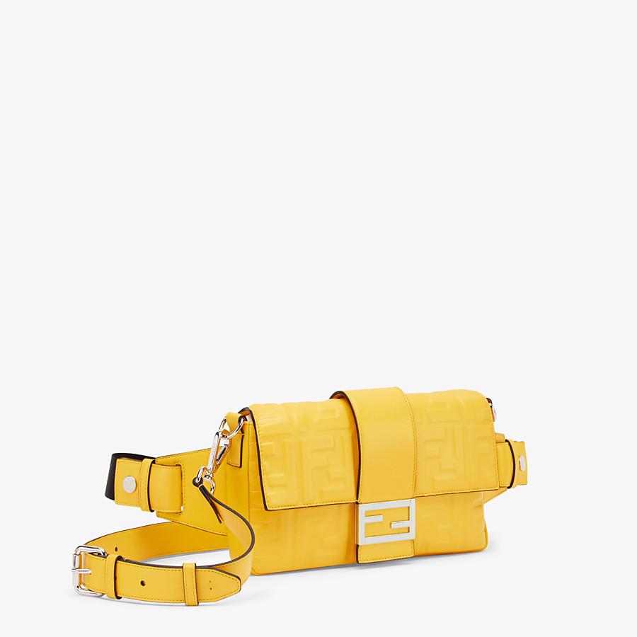 FENDI BAGUETTE - Yellow nappa leather bag - view 2 detail