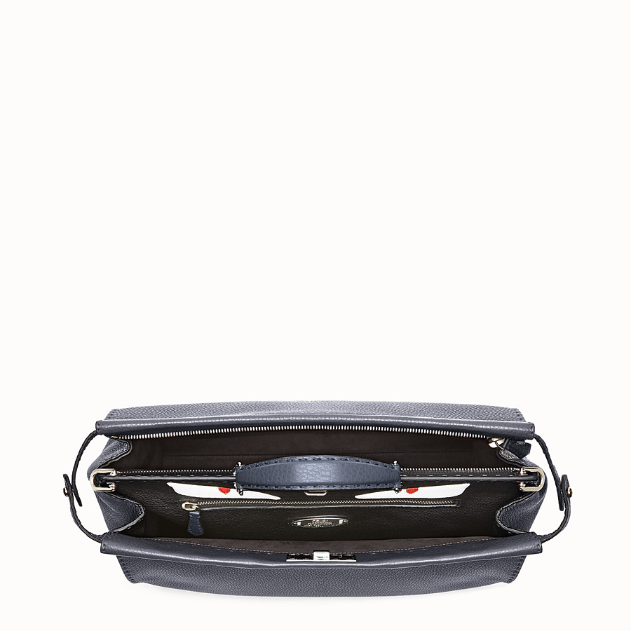 FENDI 셀러리아 피카부 - 로만 가죽 소재, 백 버그 패턴 - view 4 detail