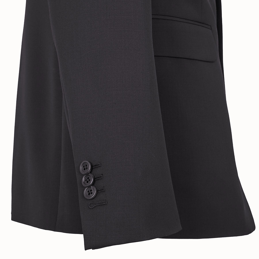FENDI DRESS - Black wool suit - view 3 detail