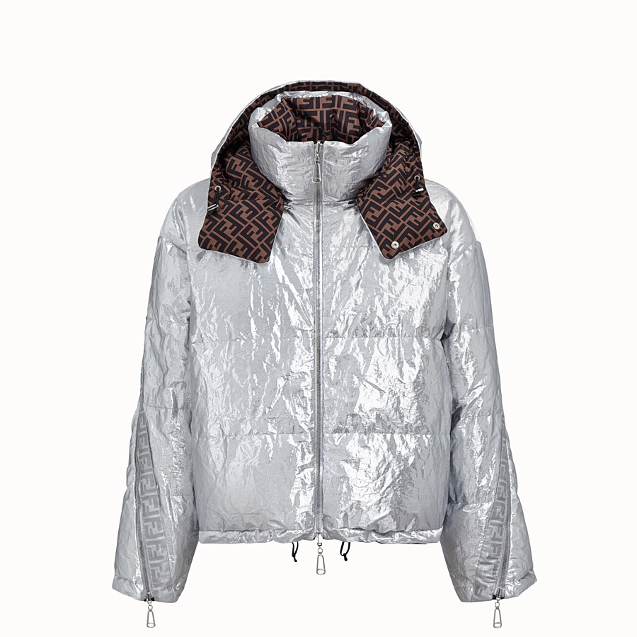 FENDI DOWN JACKET - Fendi Prints On nylon down jacket - view 1 detail