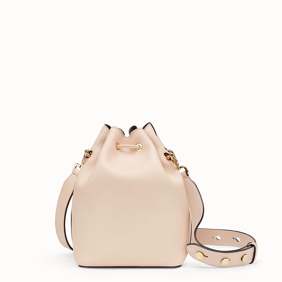 FENDI MON TRESOR - Pink leather bag - view 4 detail