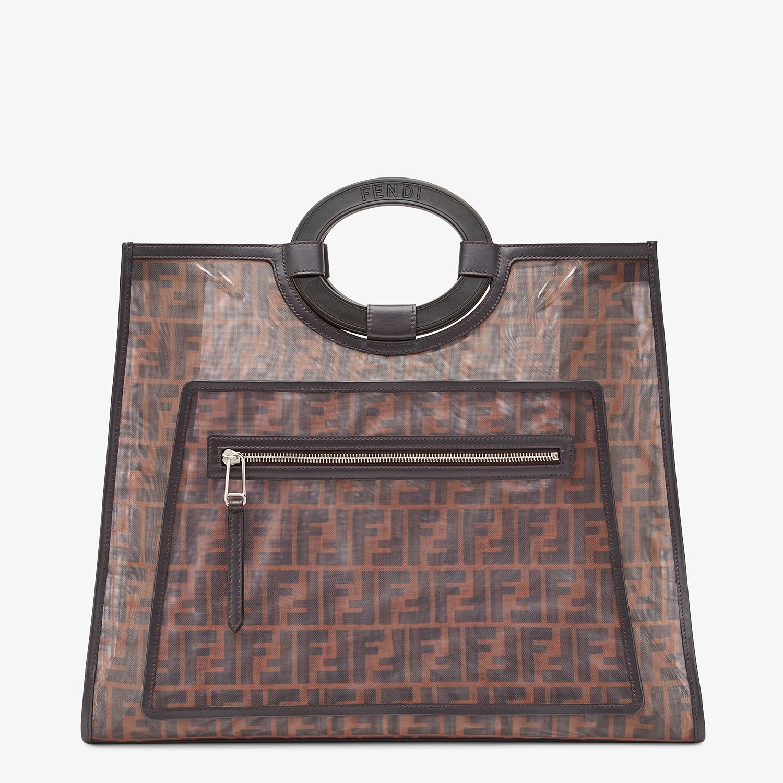 FENDI RUNAWAY SHOPPER - Multicolour mesh shopper - view 1 detail