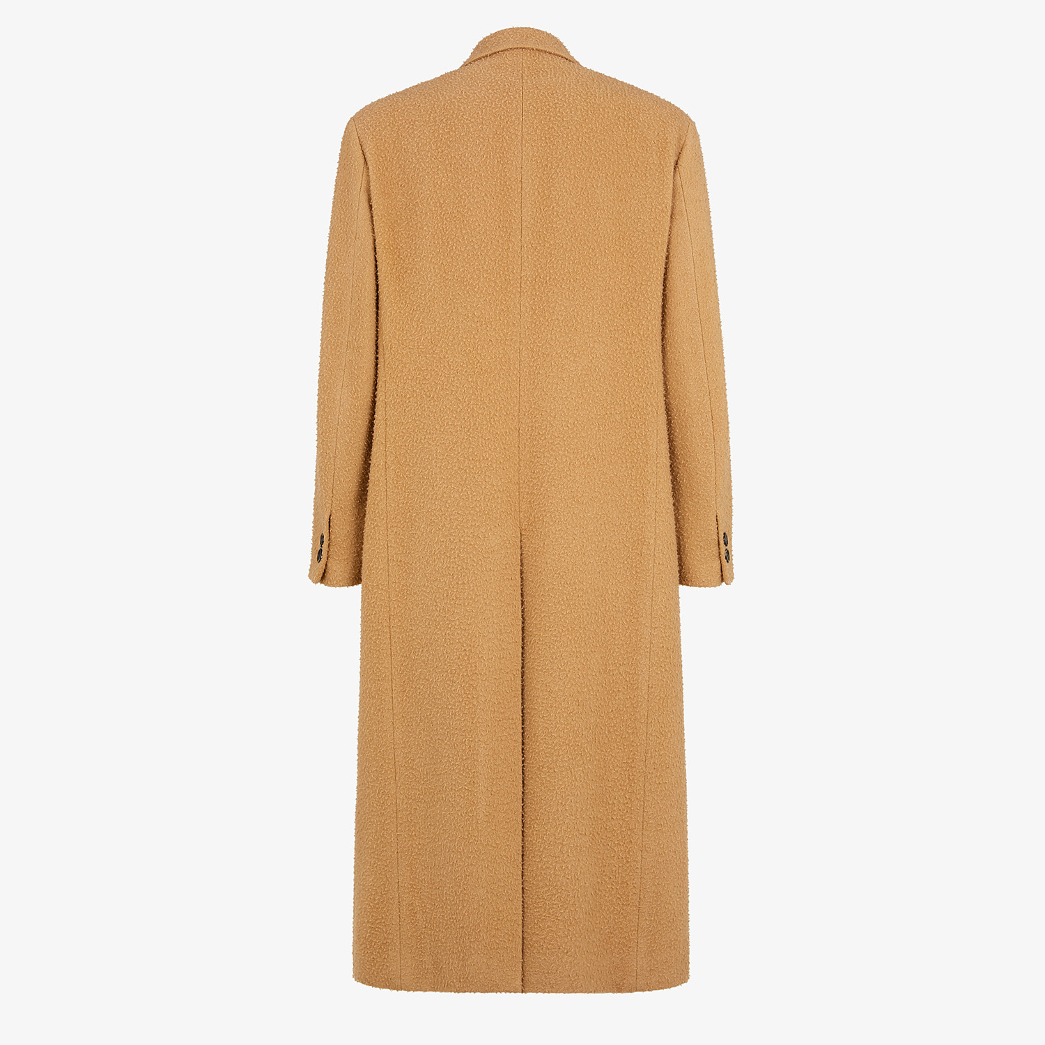 FENDI COAT - Beige wool coat - view 2 detail