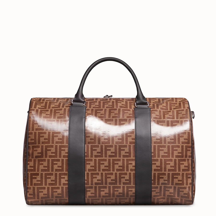 FENDI TRAVEL BAG - Large multicolour fabric bag - view 3 detail