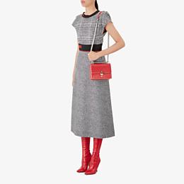 FENDI KAN I SMALL - Red leather mini-bag - view 5 thumbnail