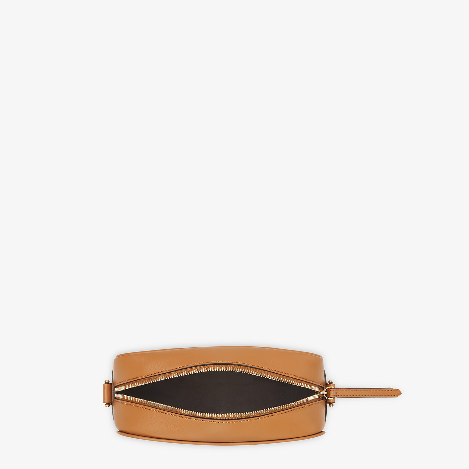FENDI CAMERA CASE - Brown fabric bag - view 4 detail