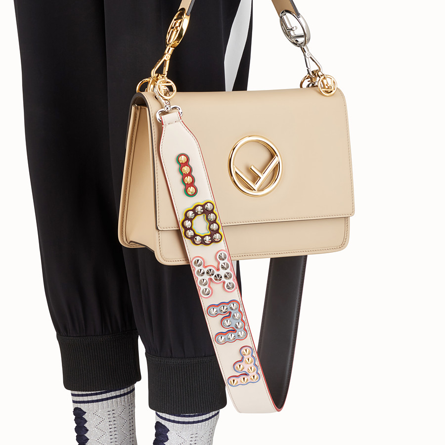FENDI STRAP YOU - Bandolera de piel - view 2 detail