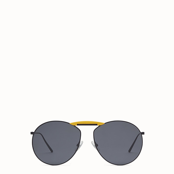FENDI GENTLE Fendi No. 2 - Black sunglasses - view 1 small thumbnail