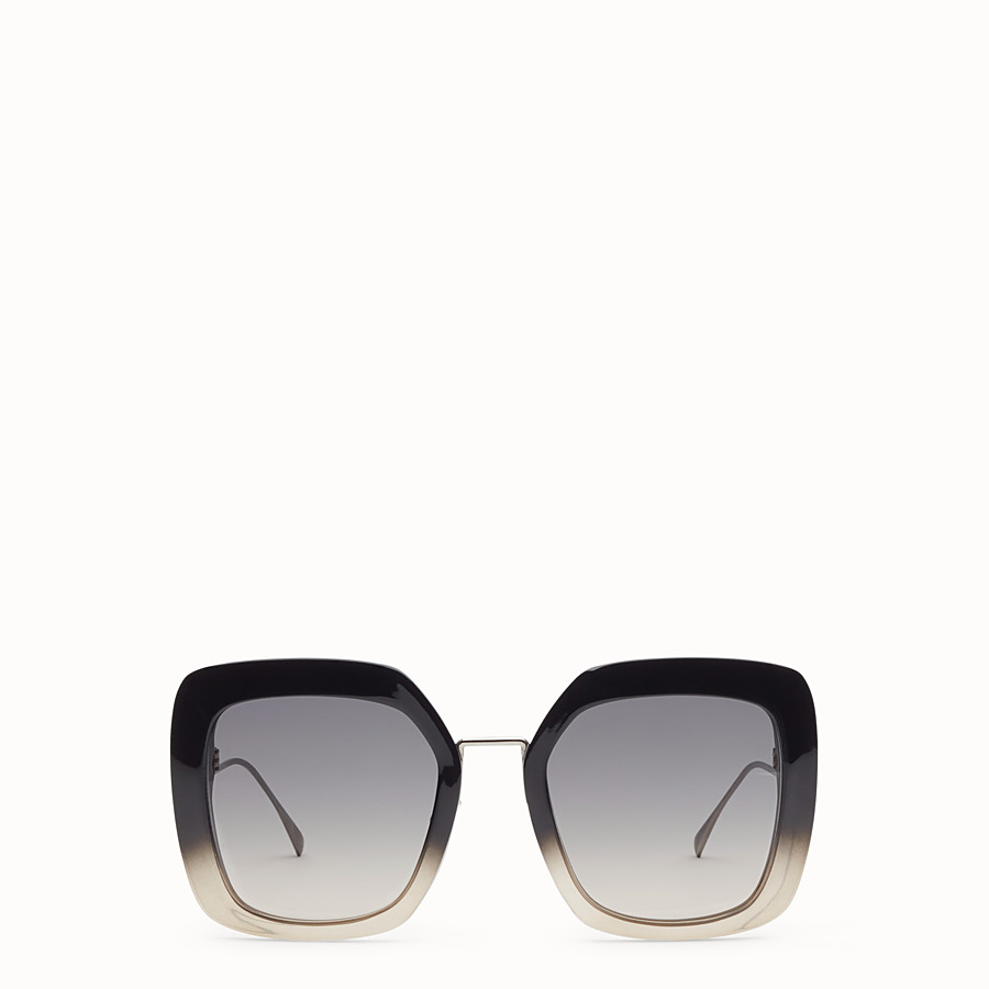FENDI TROPICAL SHINE - Black and grey sunglasses - view 1 detail