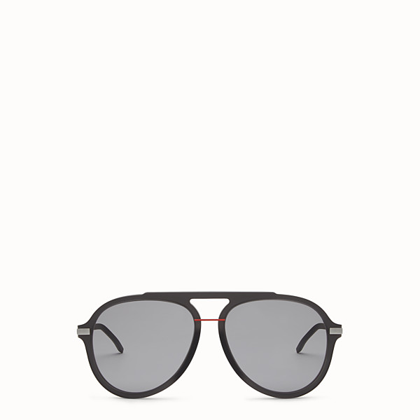FENDI FENDI FANTASTIC - Black satin-finish sunglasses - view 1 small thumbnail