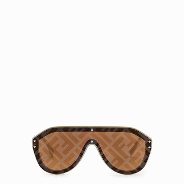 FENDI FENDI FABULOUS - Fashion Show FW18-19 beige sunglasses - view 1 small thumbnail
