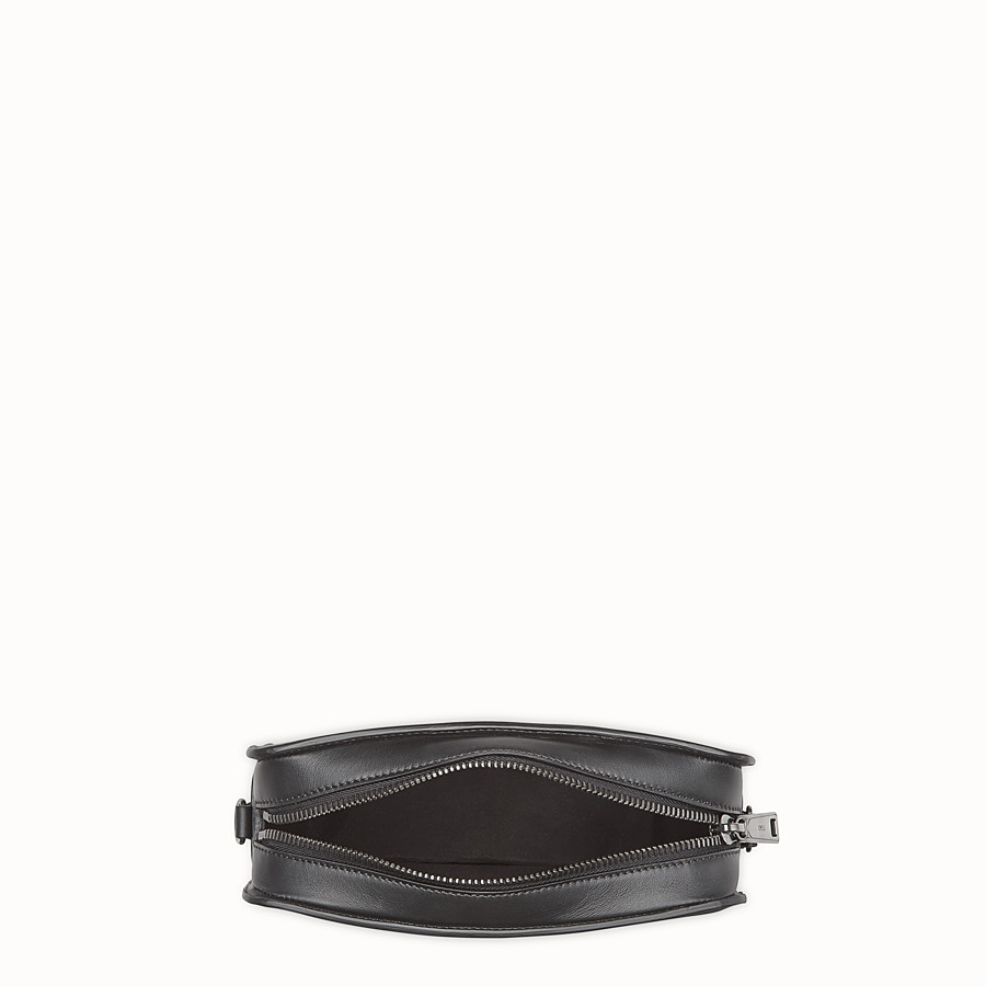FENDI MESSANGER - Black leather bag - view 4 detail