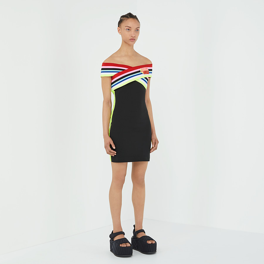 FENDI DRESS - Fendi Roma Amor jersey dress - view 4 detail