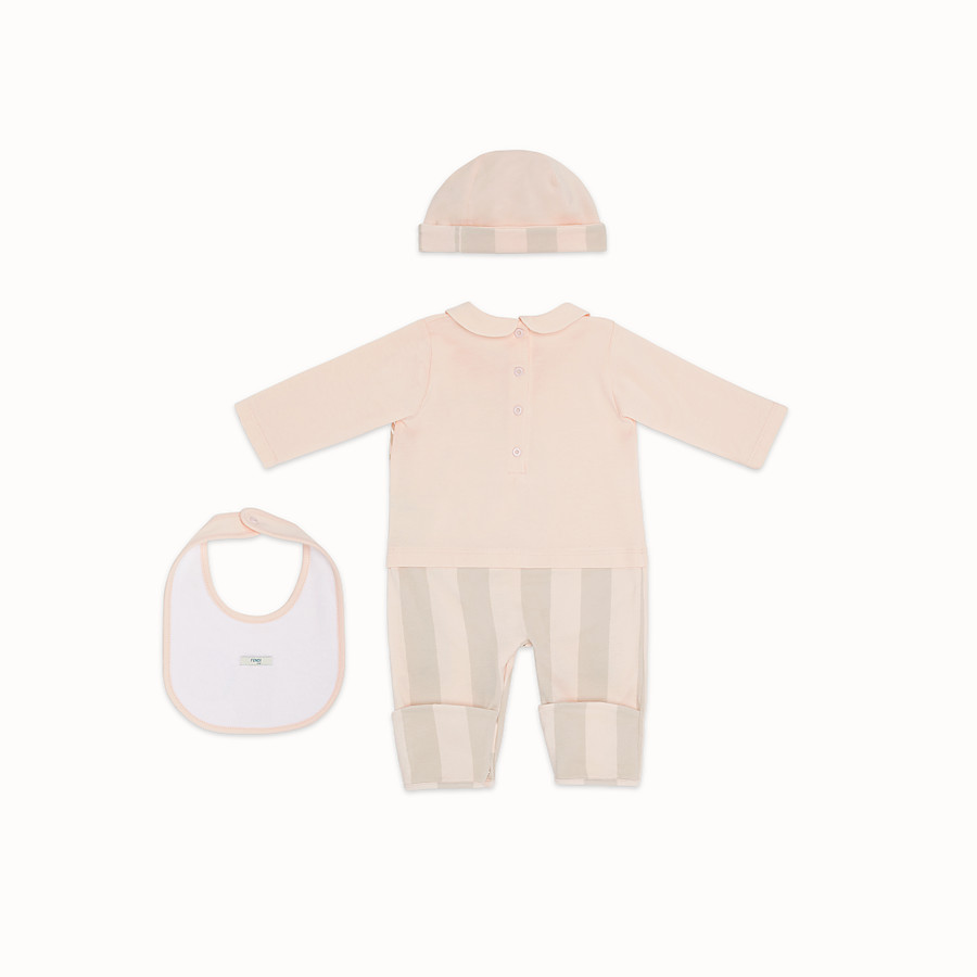 FENDI BABY KIT - Pink jersey baby kit - view 2 detail