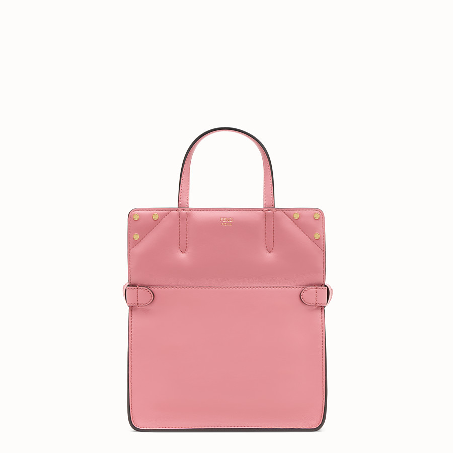 FENDI FENDI FLIP SMALL - Pink leather bag - view 2 detail