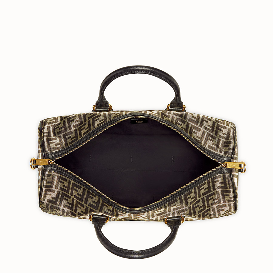 FENDI TRAVEL BAG - Large gold-colour fabric bag - view 4 detail