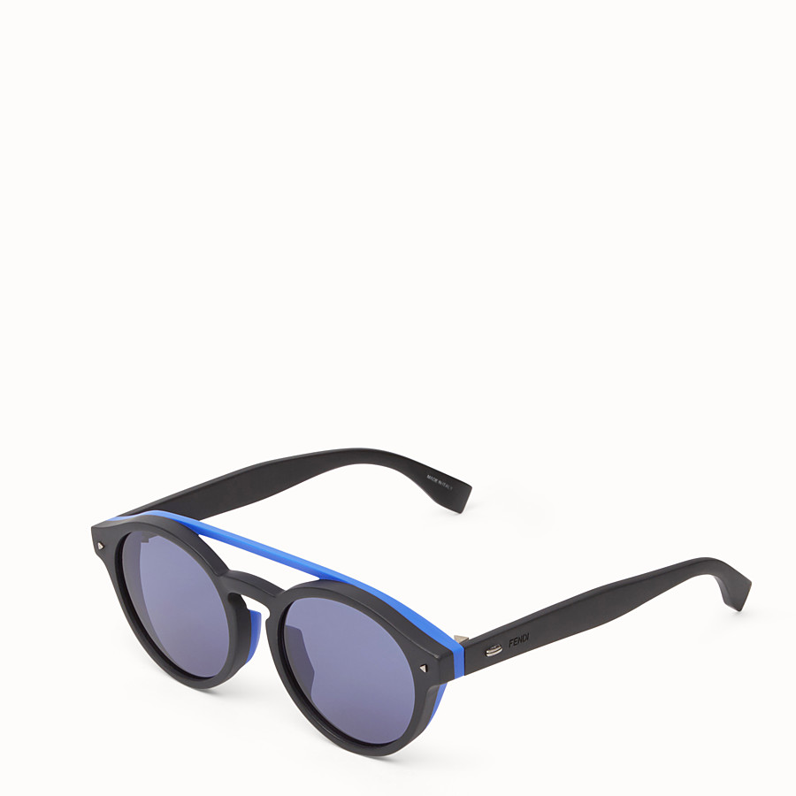 FENDI I SEE YOU - Black Asian fit sunglasses - view 2 detail