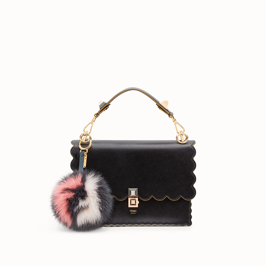 FENDI POM-POM CHARM - Multicolor fur charm - view 2 detail