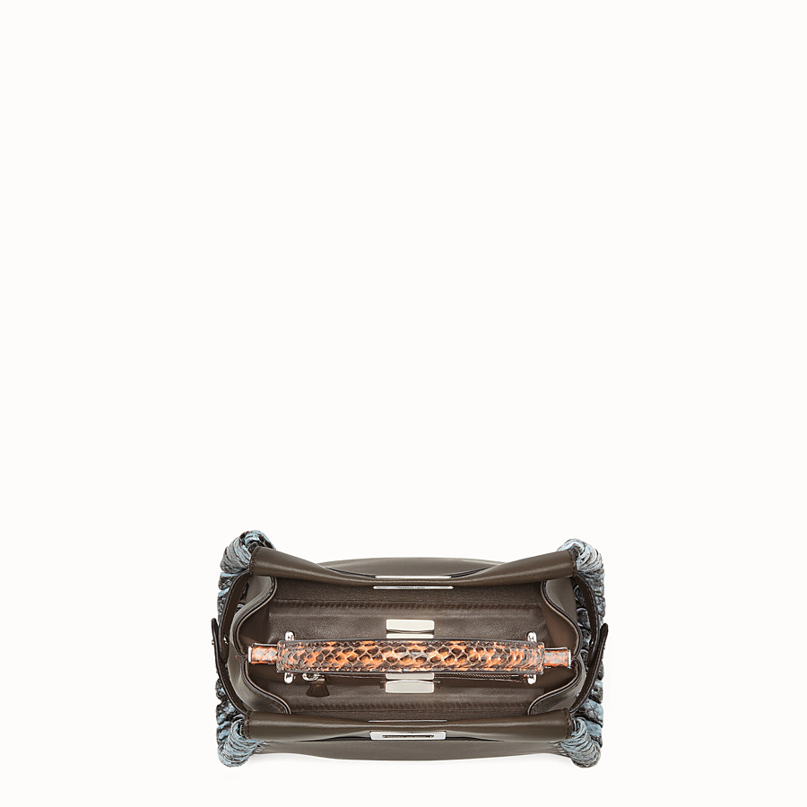 FENDI PEEKABOO MINI - Nappa leather handbag - view 4 detail