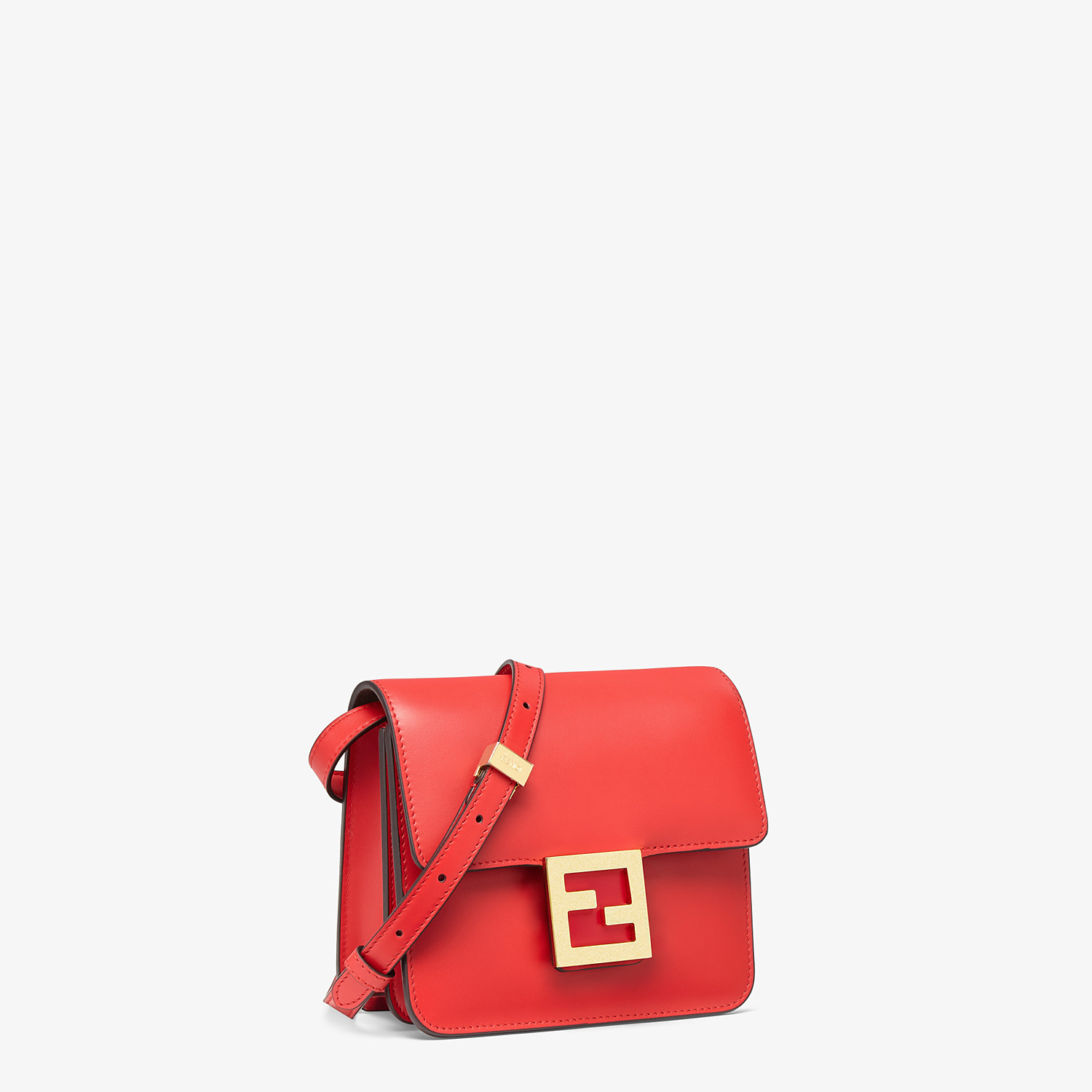 FENDI FENDI FAB - Red leather bag - view 2 detail