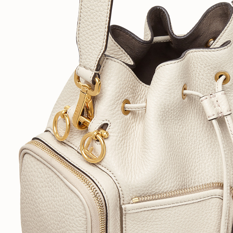 FENDI MON TRESOR - White leather bag - view 5 detail