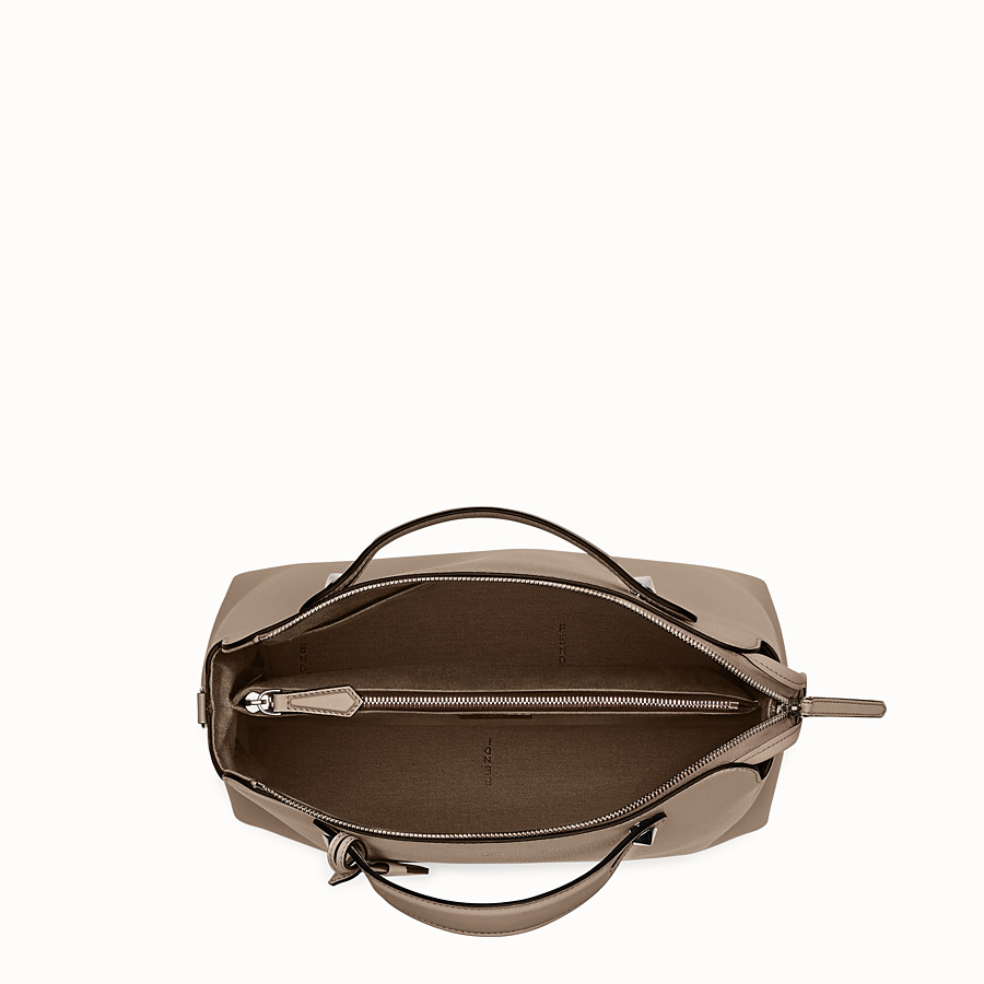 FENDI LARGE BY THE WAY - Beige leather bag - view 4 detail