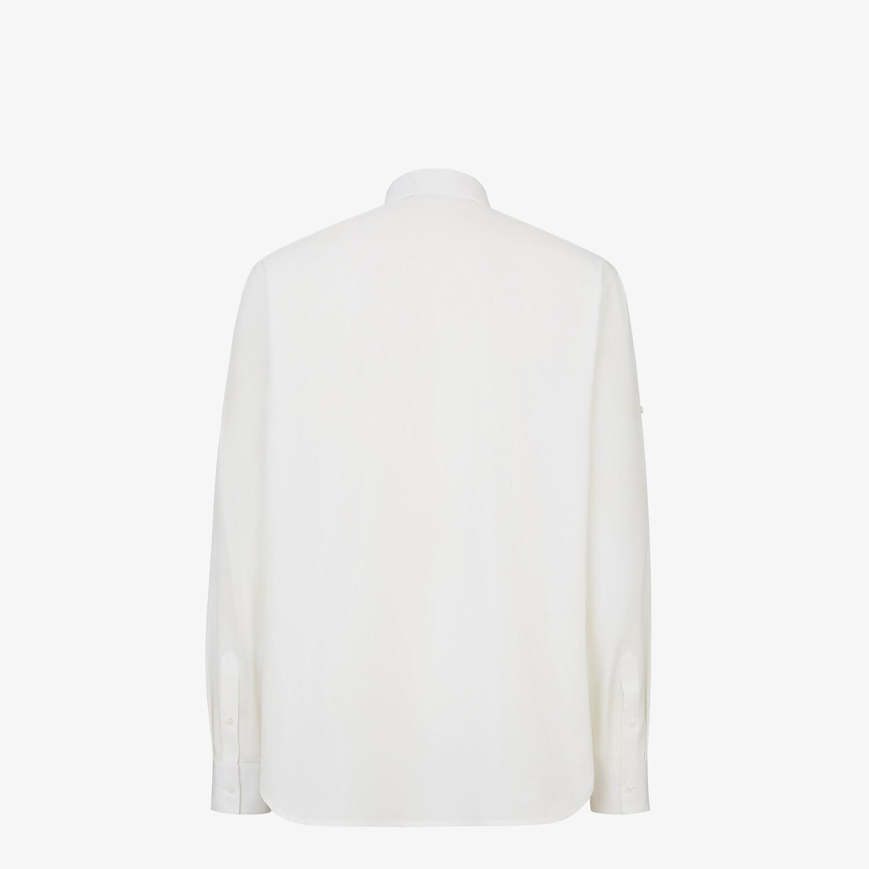 FENDI 恤衫 - 白色府綢恤衫 - view 2 detail
