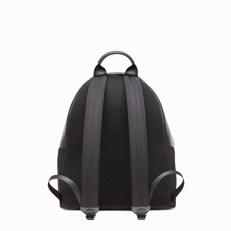 FENDI BACKPACK - Backpack in black nylon - view 3 detail
