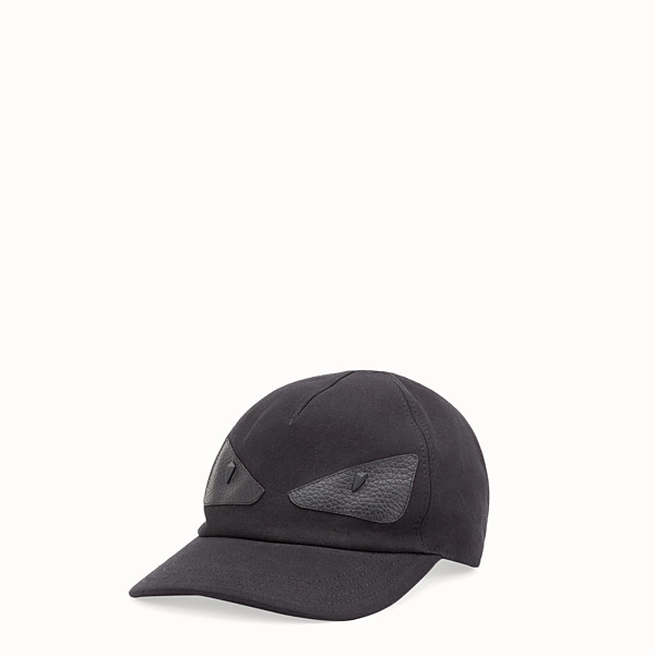 FENDI  - Black fabric baseball cap - view 1 small thumbnail