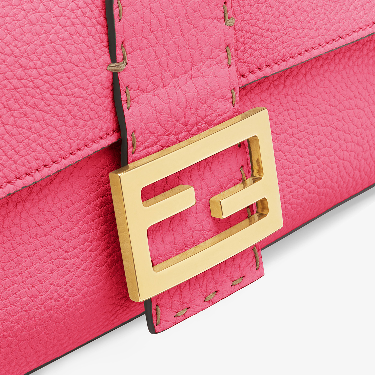 FENDI BAGUETTE - Fendi Roma Amor leather bag - view 6 detail