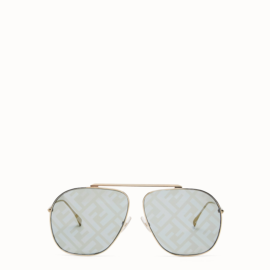 FENDI FF FAMILY - Metal sunglasses with FF logo - view 1 detail