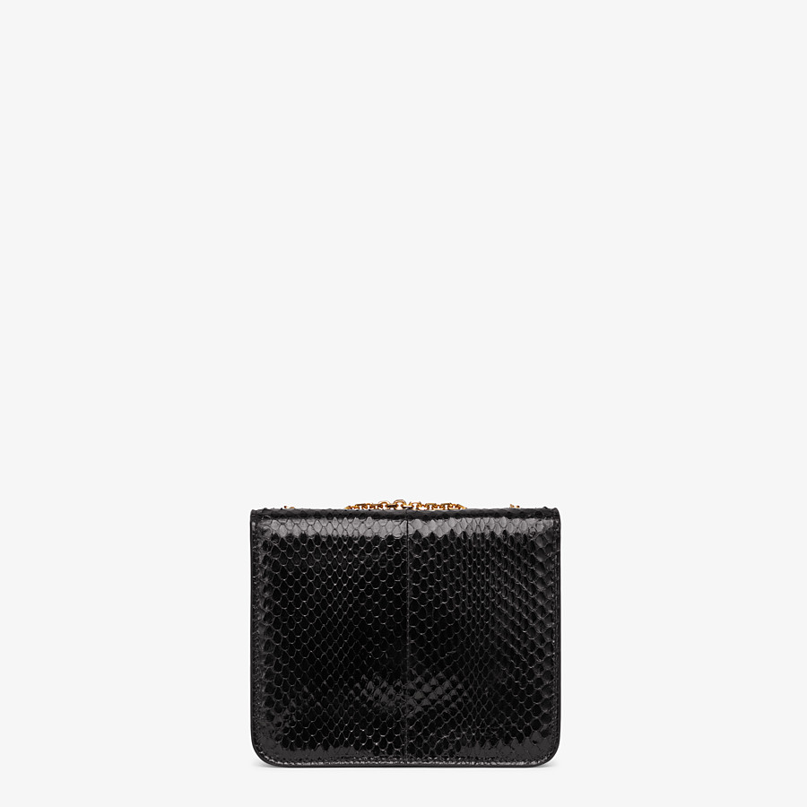 FENDI FENDI FAB - Black elaphe bag - view 3 detail