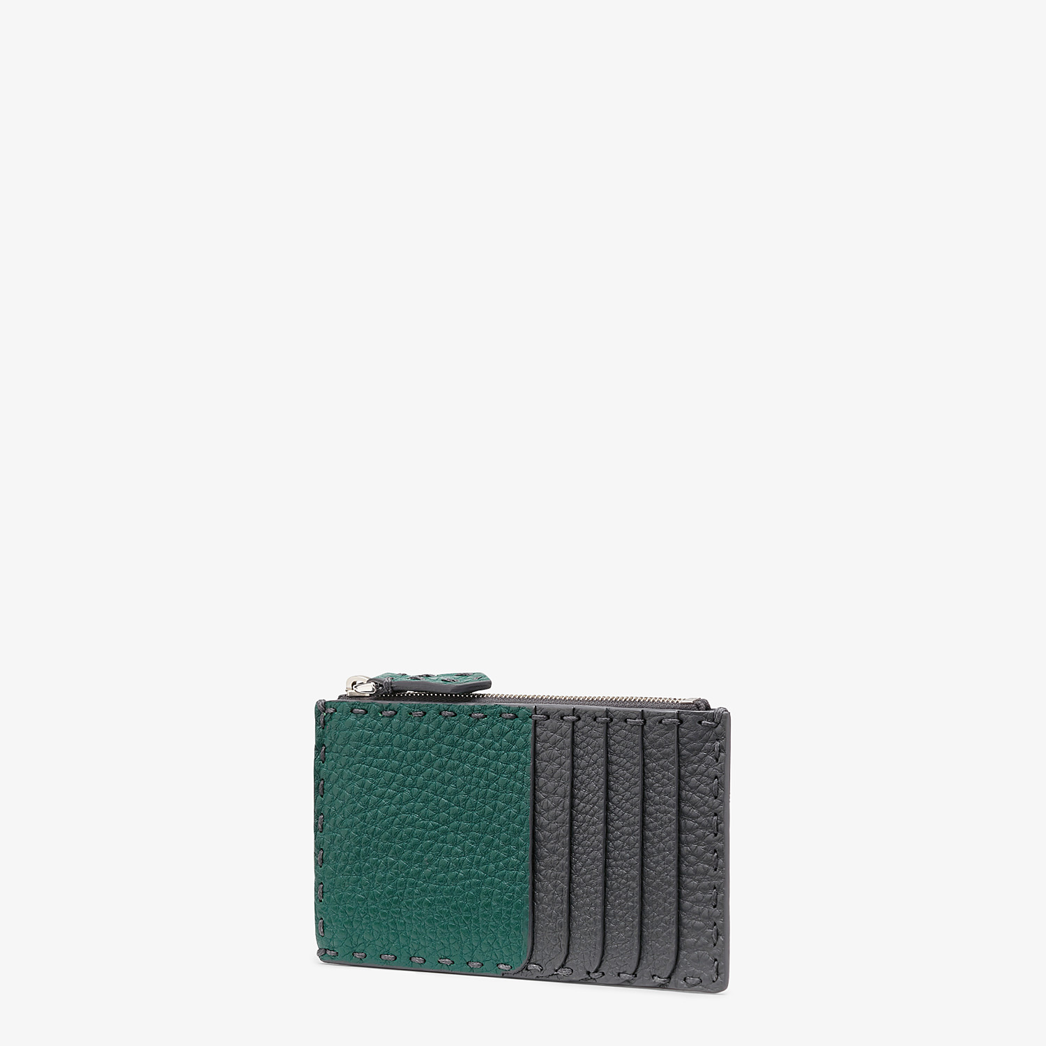 FENDI CARD HOLDER - Multicolor leather coin purse - view 2 detail
