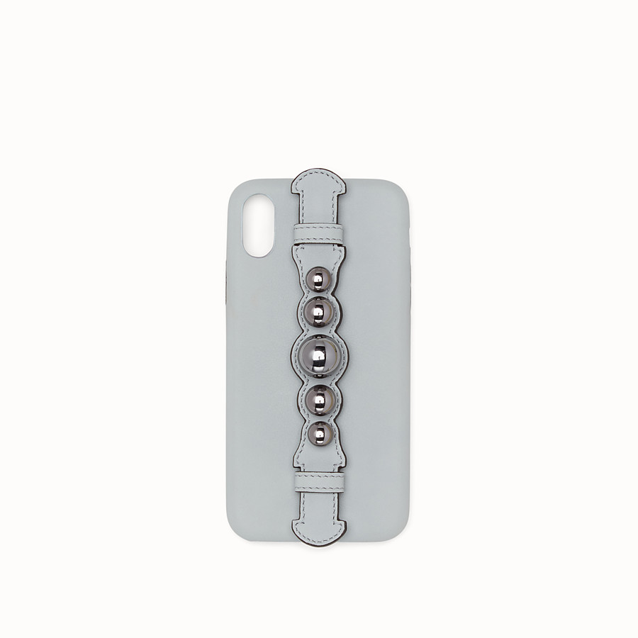 FENDI iPHONE X CASE - Grey cover - view 1 detail