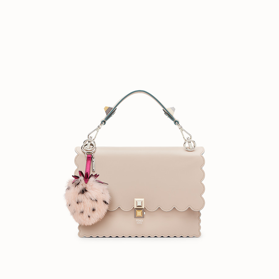 FENDI FENDI FRUITS CHARM - Pink fur charm - view 3 detail