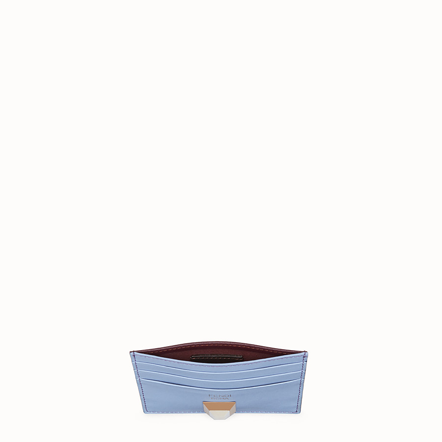 FENDI CARD HOLDER - Flat multicolor leather card holder - view 4 detail