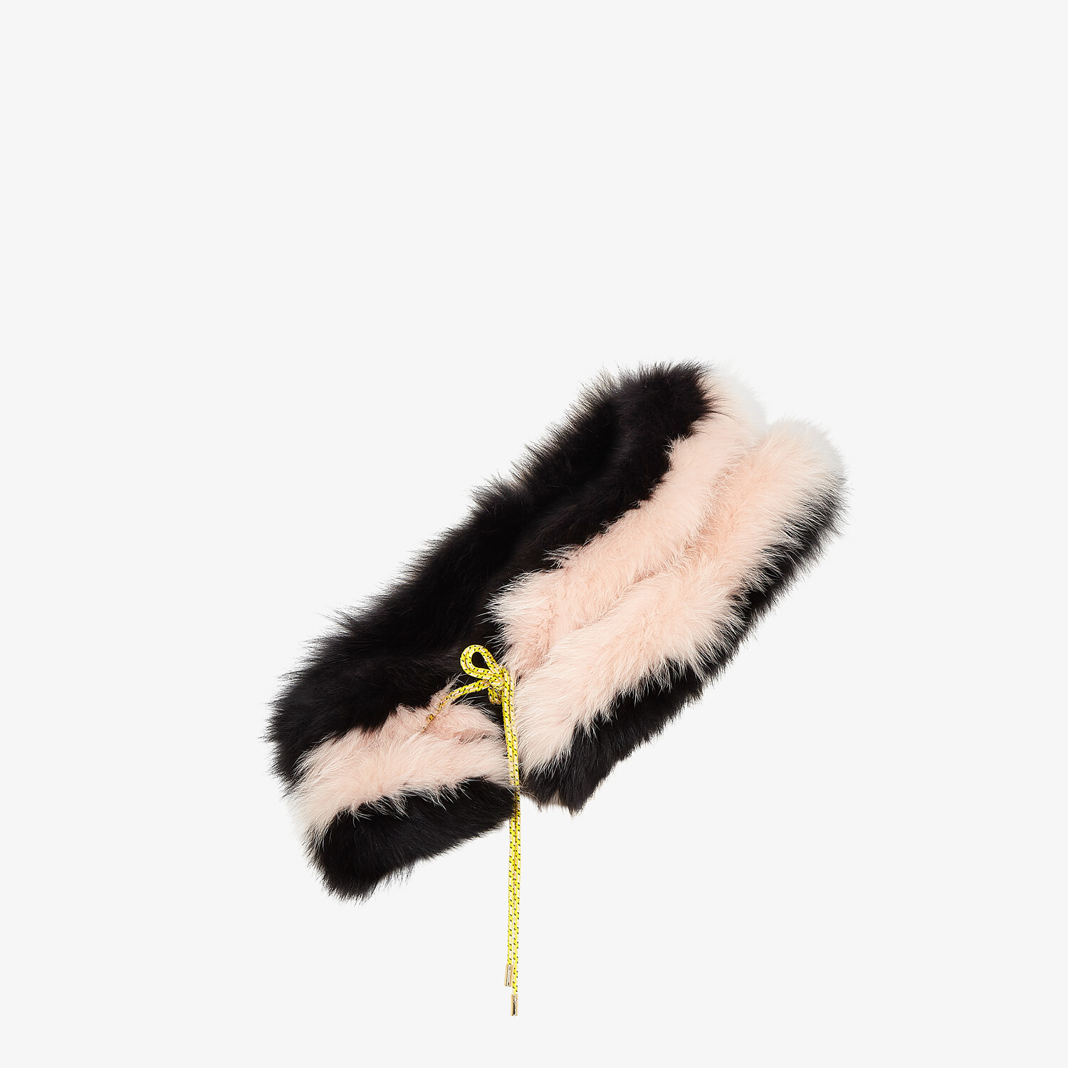 FENDI STOLE - Multicolor fox-fur stole - view 1 detail