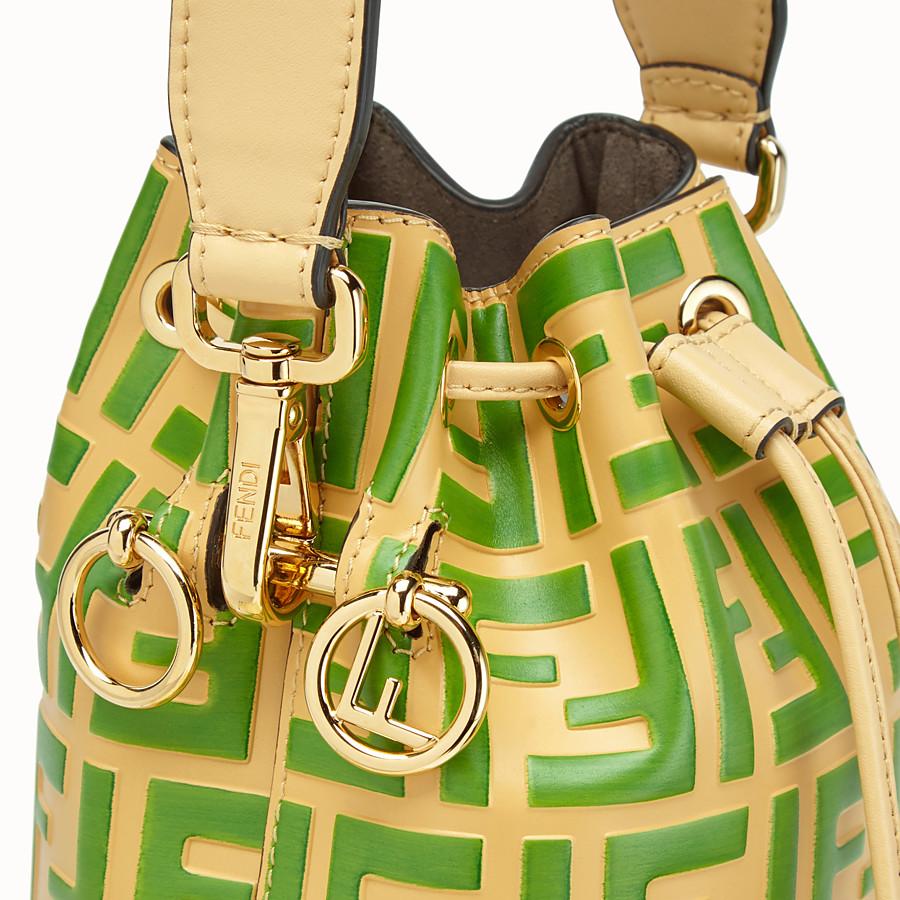 FENDI MON TRESOR - Minibag in pelle beige - vista 6 dettaglio