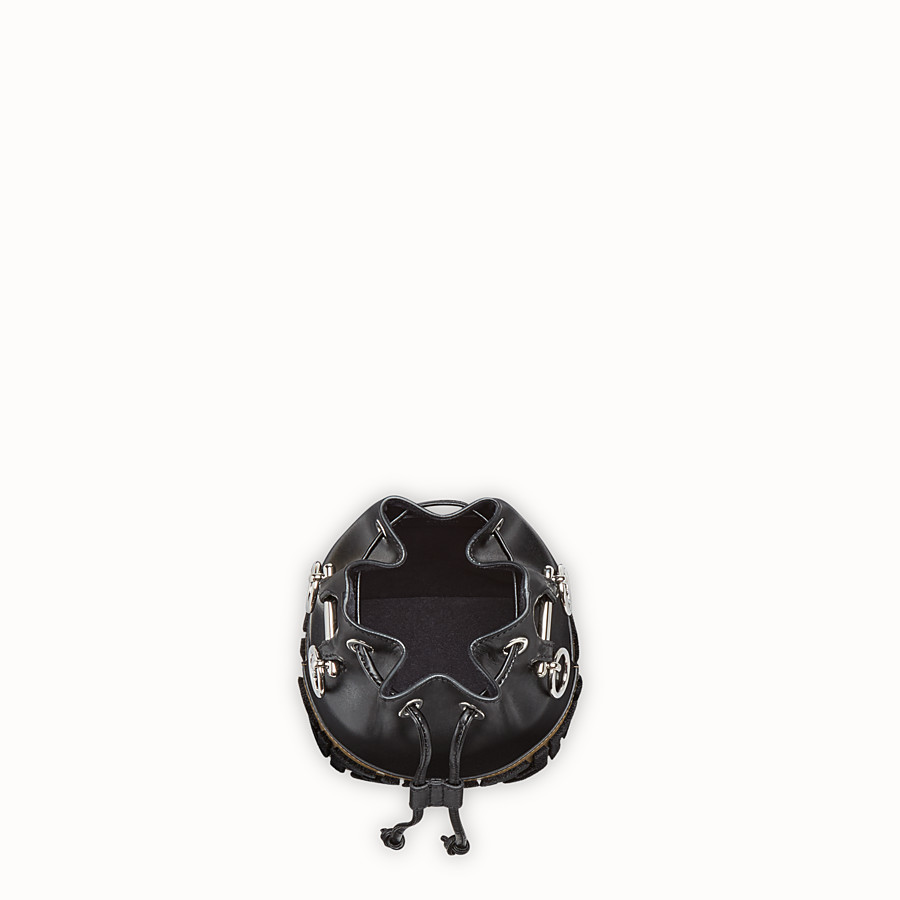 FENDI MON TRESOR - Black leather minibag - view 4 detail