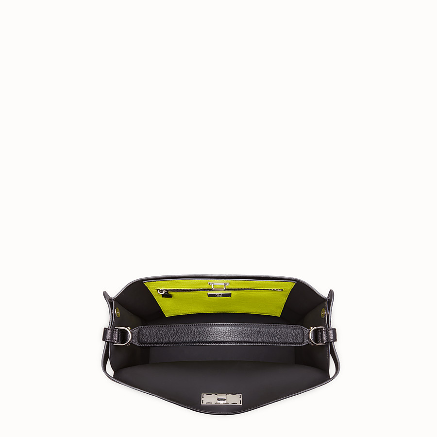 FENDI PEEKABOO X-LITE FIT - Fendi Roma Amor bag in Romano leather - view 5 detail