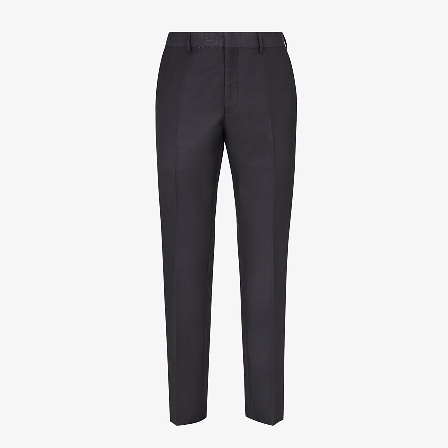FENDI pants - Gray wool pants - view 1 detail