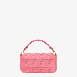 FENDI BAGUETTE - Pink terrycloth bag - view 4 thumbnail