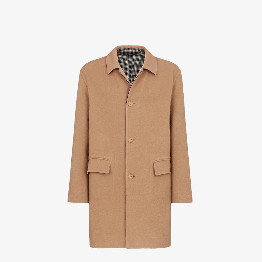 FENDI COAT - Beige wool coat - view 1 detail
